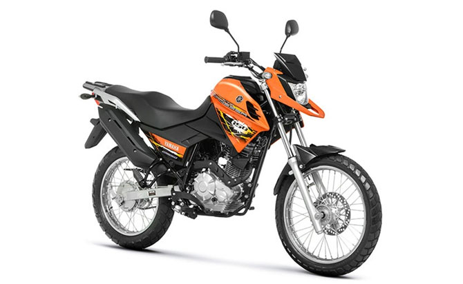 Yamaha crosser 150 ed laranja