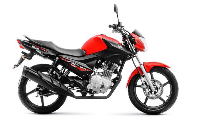 Yamaha FACTOR 150E - vermelha