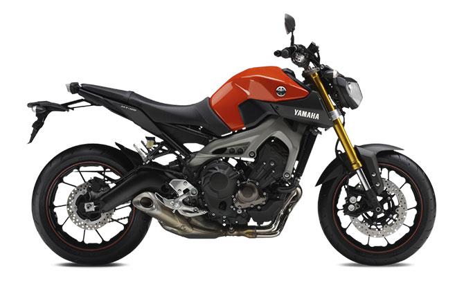 Yamaha MT-09 Laranja