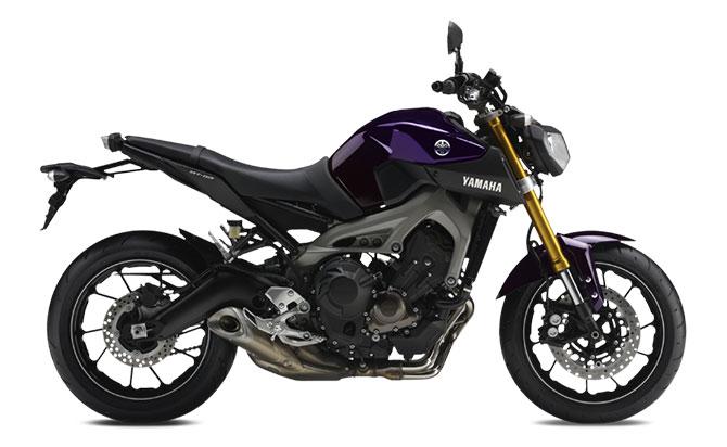 Yamaha MT-09 Roxa