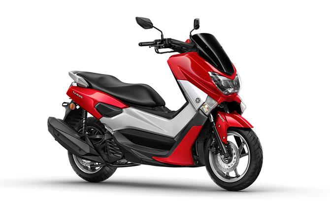 Yamaha NMAX 160 vermelha