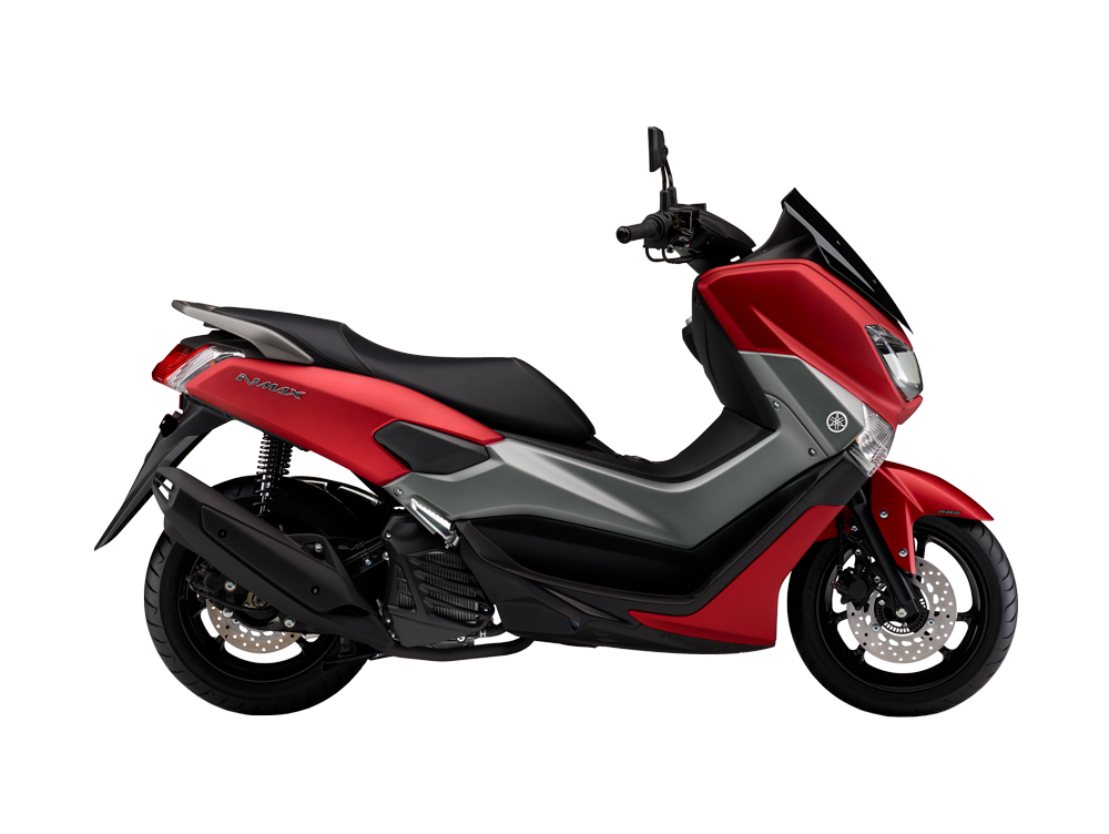 Moto_Scooter_NMAX_ABS_2018_Lateral_Matt_Red