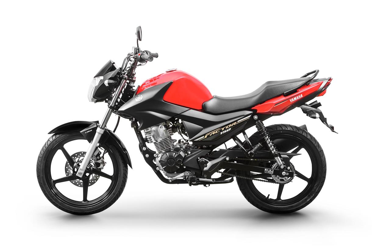 Moto_Factor_150_2020_lado_esquerda_red_hot